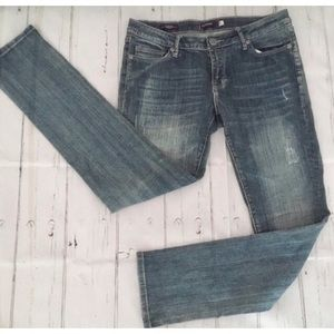Vigoss Posen Skinny Distressed Blue Jeans